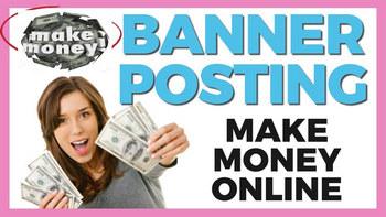 make money online with banner